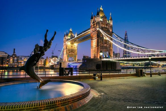 Tower Bridge - (long exposure & HDR architecture; got featured on Fujifilm facebook page)